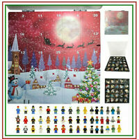 25 X Assorted Jobs City Minifigure Toy Advent Calendar fits Lego