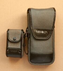 MINOLTA FLASHMETER IV INCLUDING VIEWFINDER 5 BOTH IN CASE WITH STRAP