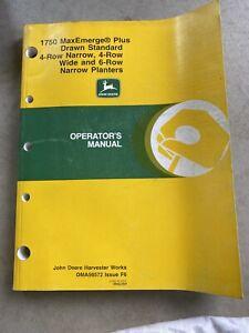 john deere operators manual for 1759 MaxEmerge Plus Drawn standard