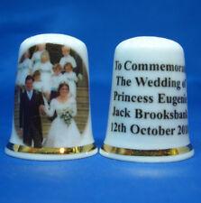 Birchcroft Thimble - Princess Eugenie Wedding Leaving Chapel  - Free Box
