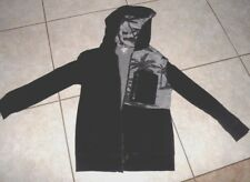 boys clothes jacket hoodie Mossimo black gray S 6 7 clothes