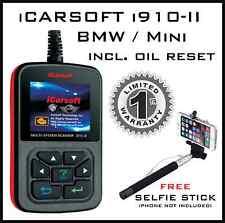 MINI / BMW ENGINE CODE FAULT MULTI-SYSTEM SCANNER & OIL RESET iCARSOFT i910-II