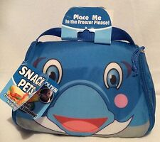 Snack Pets - Freezable Lunch Box And Place Mat - Flipper the Dolphin - Brand New