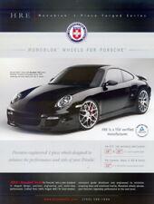2008 Porsche 997TT HRE Monoblok Wheels SEMA Show Promo info card