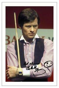 ALEX HIGGINS Signed Autograph PHOTO Fan Gift Signature Print World SNOOKER