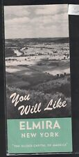 You Will Like Elmira New York Brochure Glider Capital of America 1950s