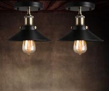 Retro Hängeleuchte Deckenlampen Vintage Industrie Pendelleuchte Lampe E26 ALI