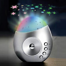 Galaxy Star Projector & Sound Machine - Silver