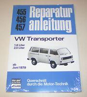 Reparaturanleitung VW T3 Transporter, Bulli 1,6 Liter / 2,0 Liter - ab 1979 !