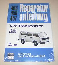 Manuel de Réparation VW T3 Bus Transporteur Bulli 1,6 L/2,0 L - Année 1979
