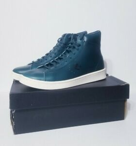 Converse 168751C Horween Pro Leather Mens Lyons Blue Size 10 Basketball shoes