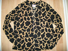QUACKER FACTORY LAYERING TOP WOMANS SIZE XL CARDIGAN WEAR OVER SPARKLE QVC ITEM
