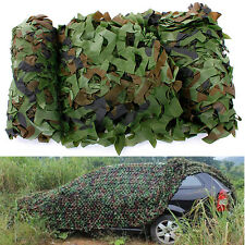 Net Military Camouflage Camo Single Foliage Woodland Woodlands Surplus New Use