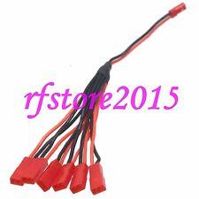 120 6 JST Lipo Ladekabel Kabel Stecker Buchse für Ladegerät B6 120SR Blade