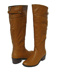 New Women's Riding Knee High Boots Camel Winter Snow Ladies Rider Shoes size 7