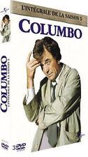 4962 // COLUMBO L'INTEGRALE DE LA SAISON 5 COFFRET 3 DVD NEUF