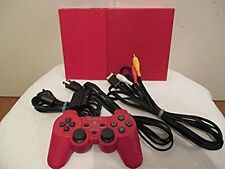 Playstation 2 RED Console PS2 Red System SLIM Japan *WORKING - GOOD COND - SALE*