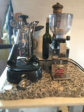Espressomaschine & Espressomühle. La Pavoni Professional & Lelit PLO43MMI
