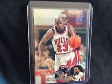 MICHAEL JORDAN 1995-96 Stadium Club Spike Says #SS1Insert Chicago Bulls
