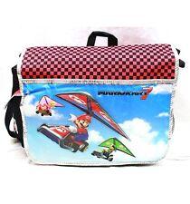 "Nintendo Mario Kart 7 Boys & Girls 14"" Polyester Red Messenger/Shoulder Bag"