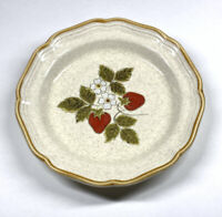 "Mikasa Strawberry Festival Salad Plate 8"" EB 801 Made in Japan Garden Club"