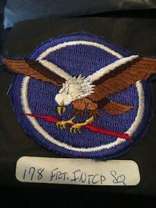 Vintage US AIR FORCE PATCH USAF  178th Fighter Interceptor Squadron Color 3/1