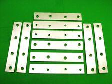 Plaque Réparation Bande 152 X 26mm (15.2cm) Droit Support de Fixation,Paquet 10