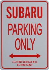 SUBARU PARKING ONLY - Miniature Fun Parking Sign