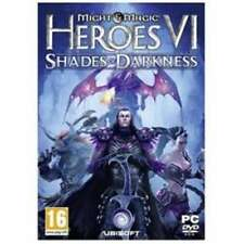 Might & Magic Heroes VI Shades of Darkness  - PC DVD - New & Sealed