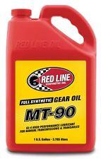 Red Line MT-90 Synchromesh 75W90 Gear Oil Fluid 3.785 Litres, GL1-3-4, 75W90