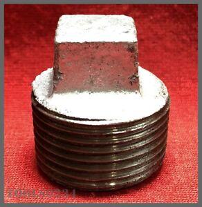 "Mueller Industries #511-804HC 3/4"" Galvanized Plug - Malleable Iron"