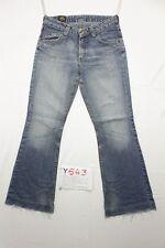 Lee bootcut jeans d'occassion (Cod.Y543) Tg.47 W33 L30 boyfriends femme