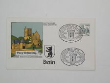 (k590) Berlin Schmuck FDC Michel Nr. 590 Burgen und Schlösser Burg Lichtenberg