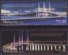 Malaysia 2014 The Sultan Abdul Halim Mu'Adzam Shah Bridge MNH