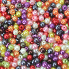 500Pcs Top Quality Czech Glass Pearl Round Loose Spacer Beads 4mm  Jewelry Craft