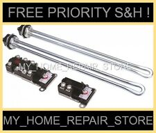 ELECTRIC WATER HEATER REPAIR KIT 2 4500W 240V DUAL ELEMENT & 2 T-O-D THERMOSTATS