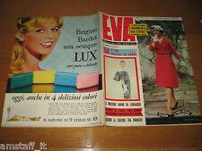 EVA=1959/11=RIVISTA MAGAZINE MODA DONNA WOMAN CUCINA ARREDAMENTO=