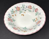 "CHURCHILL Briar Rose England Serving Vegetable Bowl 9.5"" Pink Flower"