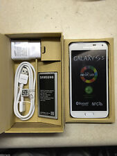 New Samsung Galaxy S5 SM-G900T - 16GB - Shimmery White GSM T-Mobile Unlocked ATT