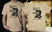 How are the brakes ? inspired by Steve McQueen : Motorcycle gift funny :: SALE