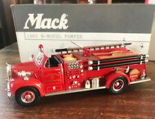 First Gear 19-3085 Mahopac Falls Vol Fire Dept 1960 Mack Model B 1/34 Boxed