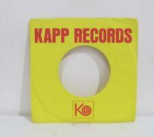 45 RECORD SLEEVE - COMPANY KAPP