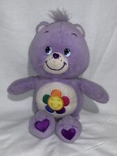 "Purple Care Bear 11"" Harmony Bear 2002"