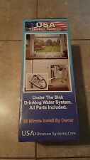 NEW Under the Sink Drinking Water filter system - all parts included. $95 New