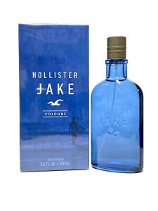 Hollister JAKE Cologne For Men 3.4oz 100ml Cologne Spray *NEW & SEALED* (IF02