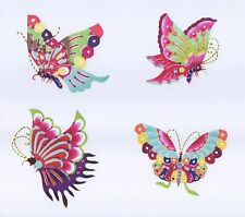 Handmade Paper Cuts 3 Set of different Butterfly total 28 colorful smal Pieces
