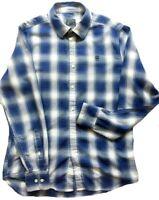 G-Star Raw Mens Rivo Core Long Sleeve Slim Button Shirt Size L