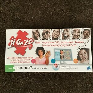 Jigazo puzzle design your own photo image 300 piece puzzle by Hasbro