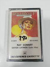 RAY CONNIFF EXITOS LATINOS CINTA TAPE CASSETTE CBS SPANISH ED NEW SEALED NUEVA