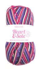 SIRDAR Heart & Sole Wool Rich 4 Ply Sock Yarn Color 160